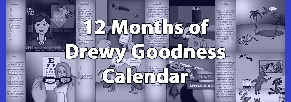 drewy calendar