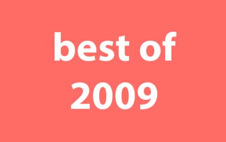Drew's Best of 2009