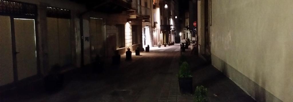 darkened alley