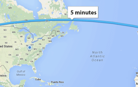 Seattle to Turin in 5 Minutes, Part 1