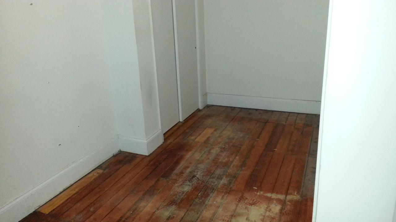 my empty apartment