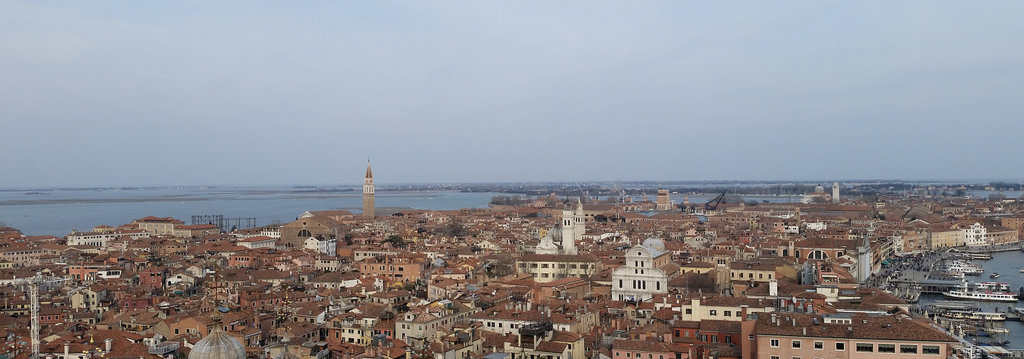looking out on venice