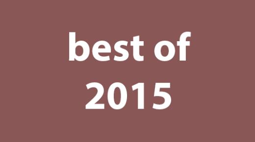 Drew's Best of 2015