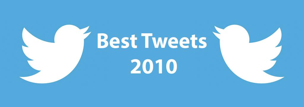 best tweets 2010