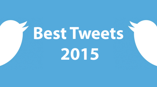 My Best Tweets of 2015