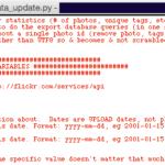 flickr export metadata csv