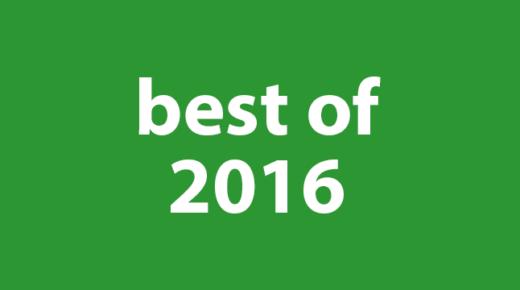Drew's Best of 2016