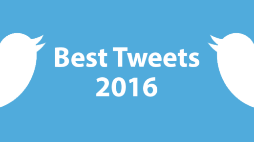 My Best Tweets of 2016
