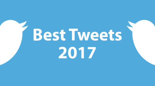 My Best Tweets of 2017