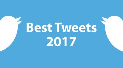 My Best Tweets of 2017