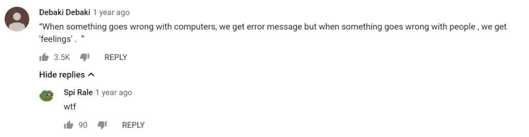 Human Error Messages Quote